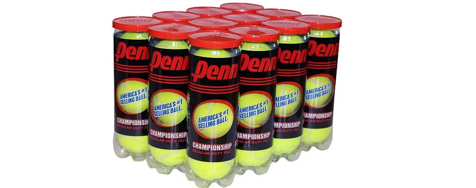 Penn ChampionShip Tennis Balls Regular Duty