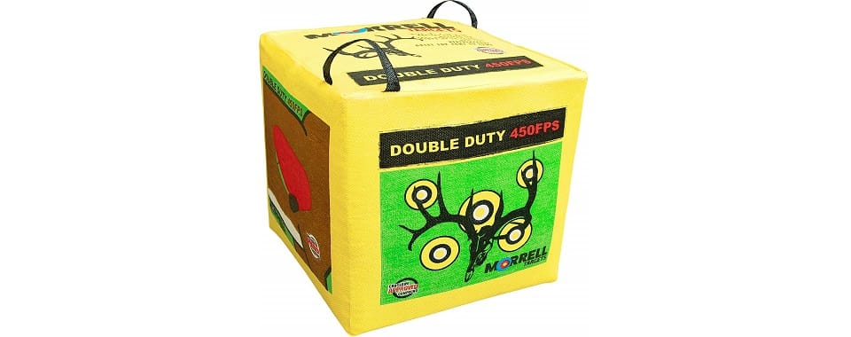 Morrell Double Duty Archery Target