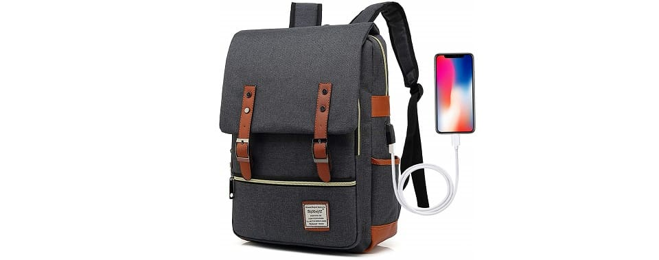 UGRACE Vintage Laptop Backpack