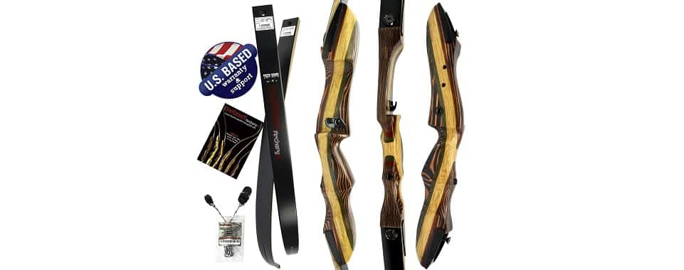 Tigershark – Recurve Bow with Stabilizer