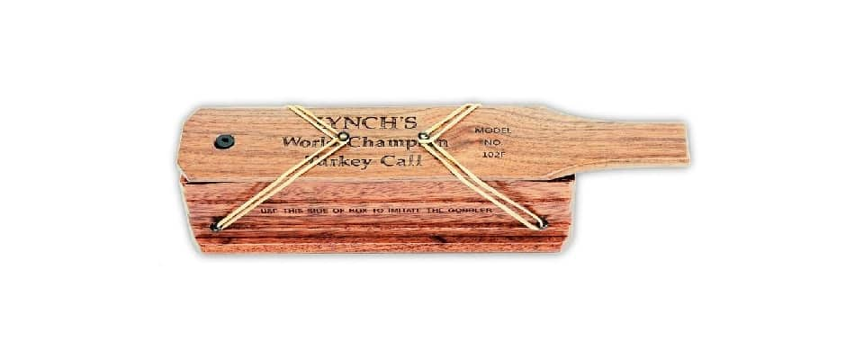 Lynch World Champion – Best Turkey Box Call Chalk