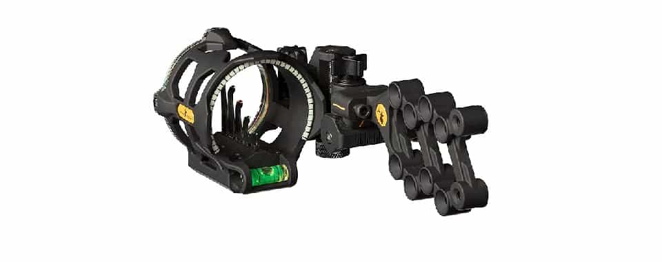 Trophy Ridge React V5 – Best Bow Sight for Low Budget