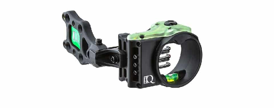 IQ Ultralite 5 Pin Sight - Best Hunting Bow Sight (IQ Products)