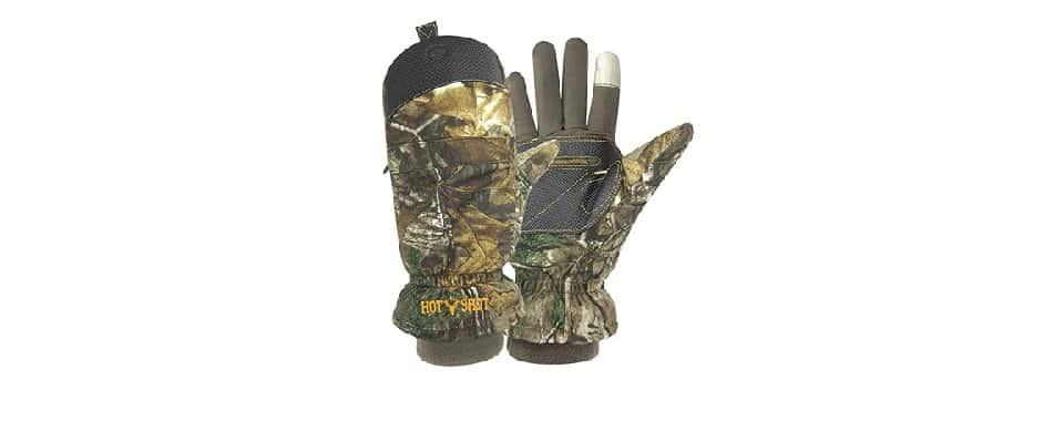 """Hot Shot Men's """"Predator"""" – Best Hunting Gloves for Money"""
