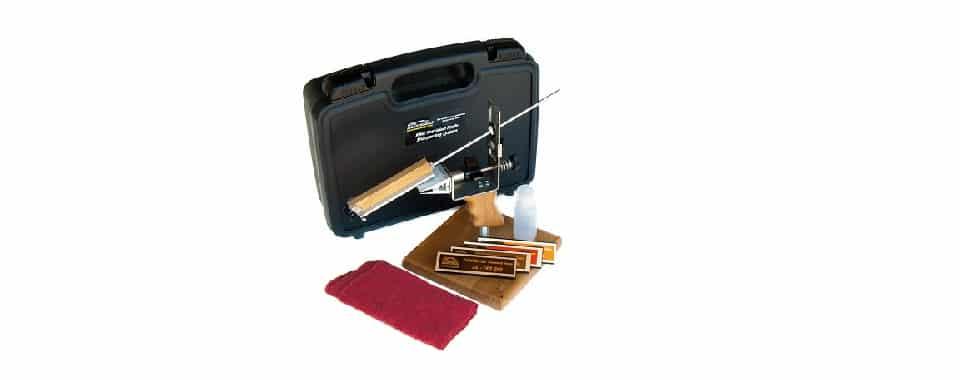 KME Precision Knife Sharpener – Best Sharpener with Diamond Hones