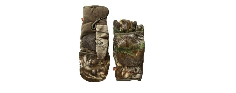 Manzella Bow hunting Gloves – Half Finger Mitten Production