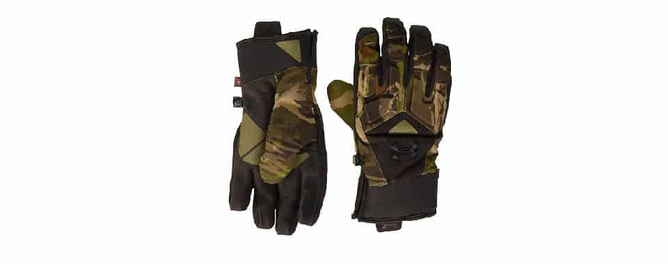 Under Armour Men's SC – Best Late Season Bow Hunting Gloves